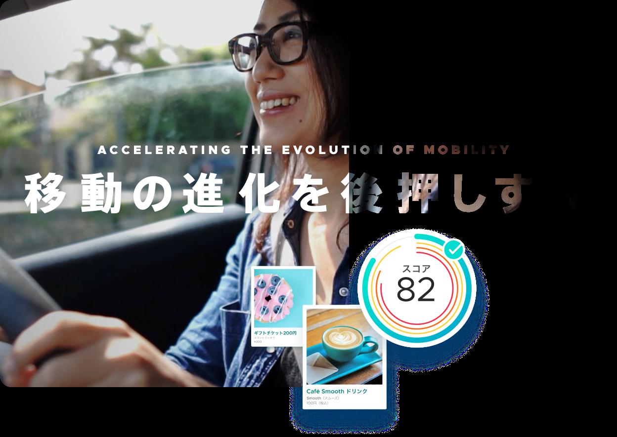 移動の進化を後押しする Accelerating the evolution of mobility