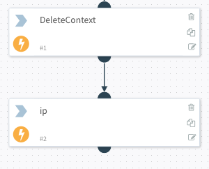 connect delete and ip