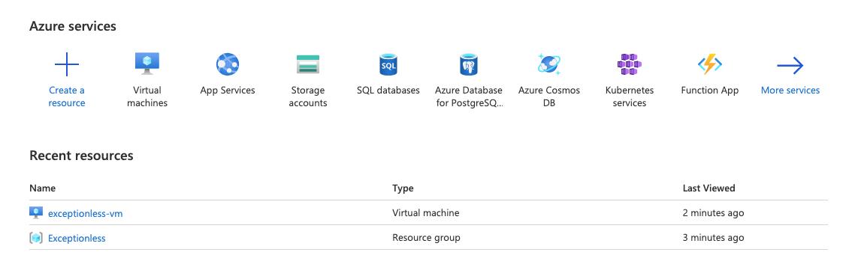 Recent Resources on Azure