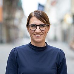 portrait of Stina Wigren
