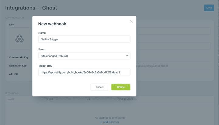 Add Webhook