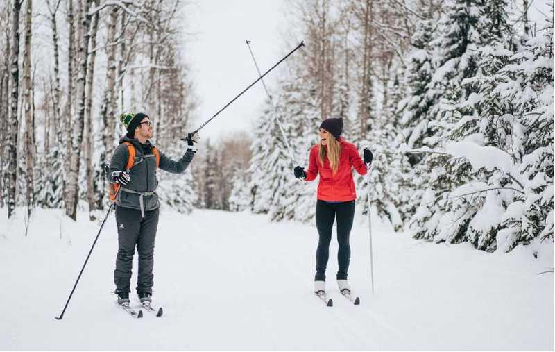 Cross Country Skiing in Waskesiu