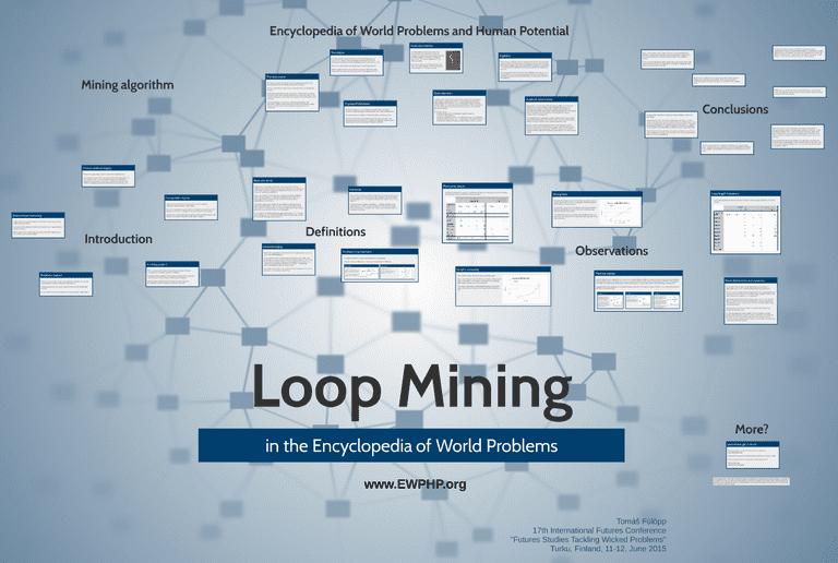 Screenshot of the loop mining presentation