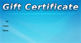 Gift Certificate Template Business 07