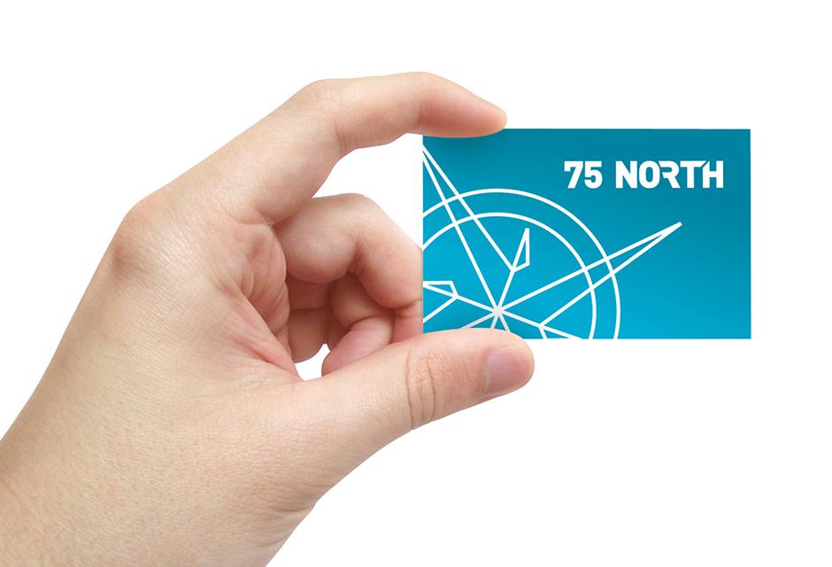 75 North branding visual