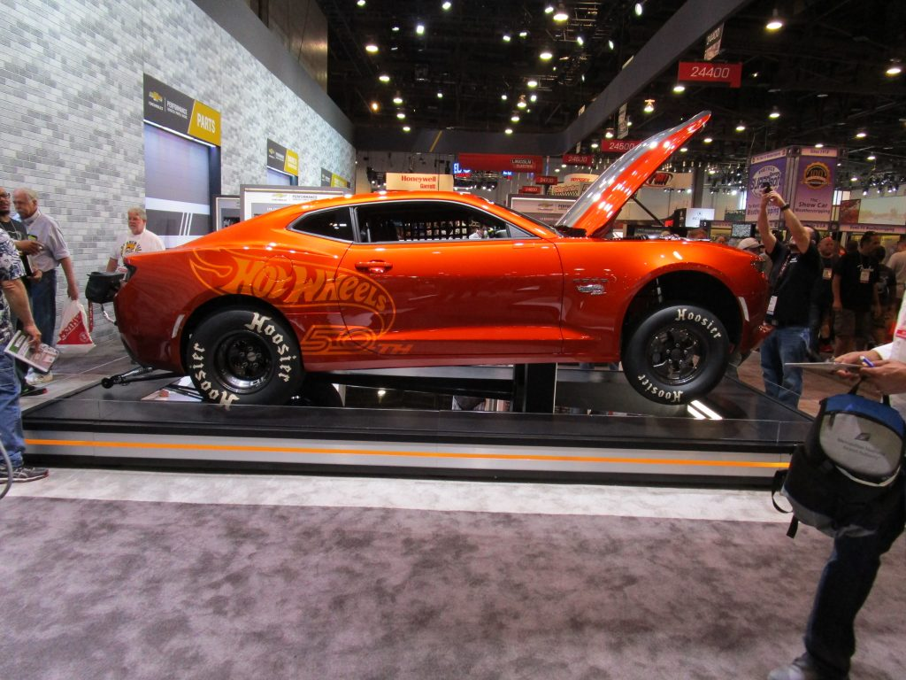 Red Hot Wheels Camero