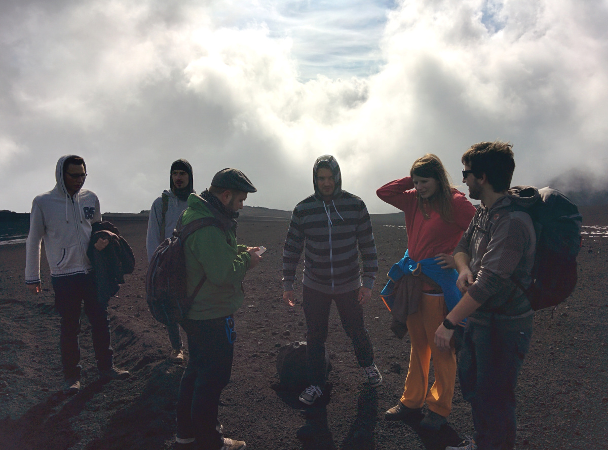 Hiking on Etna