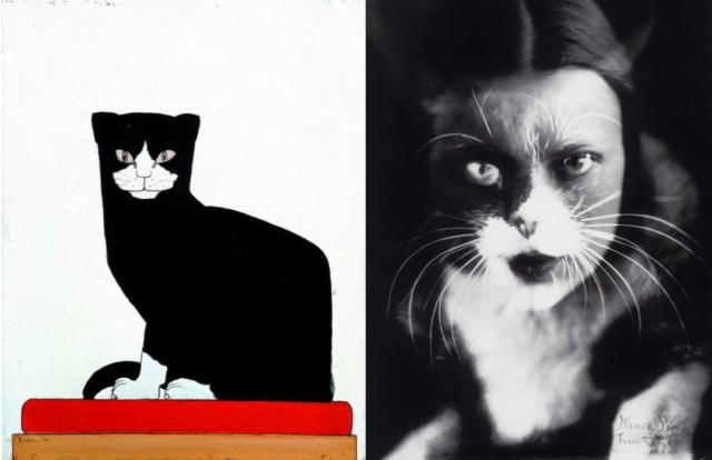 De kat in de kunst