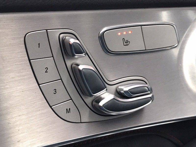 Mercedes-Benz GLC 43 AMG 4MATIC 367PK ACC, Pano, Memory Seats, 360* Camera, Luchtvering, Command Online, Lane Assist, 20INCH afbeelding 7