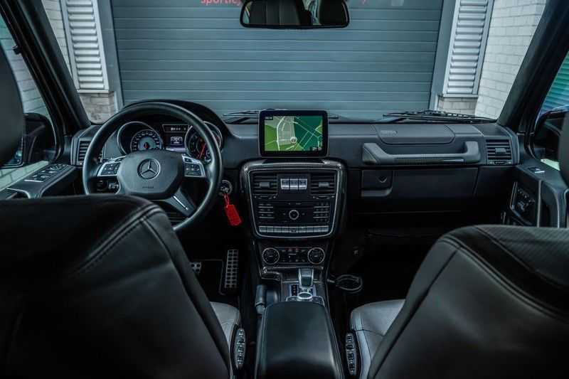 Mercedes-Benz G-Klasse 63 AMG, 571 PK, Full/Black Optiek, Schuif/-Kanteldak, TV, Harman/Kardon, Designo leder, Distronic, 57DKM!!! afbeelding 6