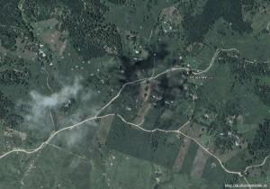 Plaiul Nucului, Lopatari, Buzau - Google Earth