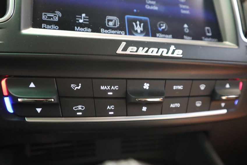"""Maserati Levante 3.0 V6 D AWD STARTECH UNIEK! Panoramadak Diamond Leder Xenon 21""""LM 275 PK! *tot 24 maanden garantie (*vraag naar de voorwaarden) afbeelding 8"""
