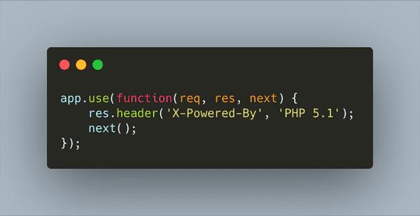header code