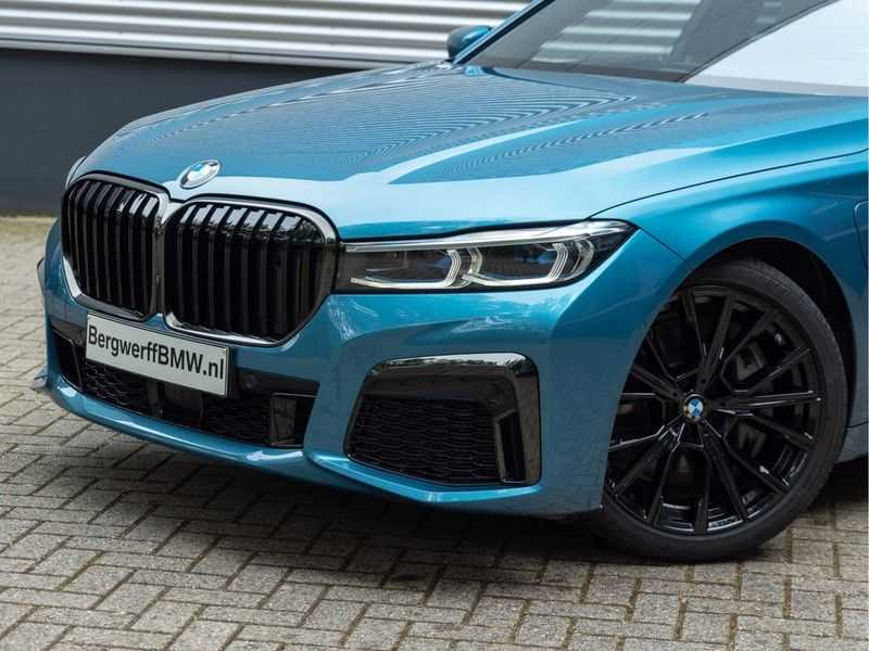 BMW 7 Serie 745Le xDrive Individual ''Maldives Blue'' - Full Option afbeelding 9