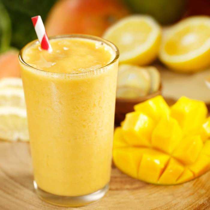 Mango Orange Smoothie Cocktail