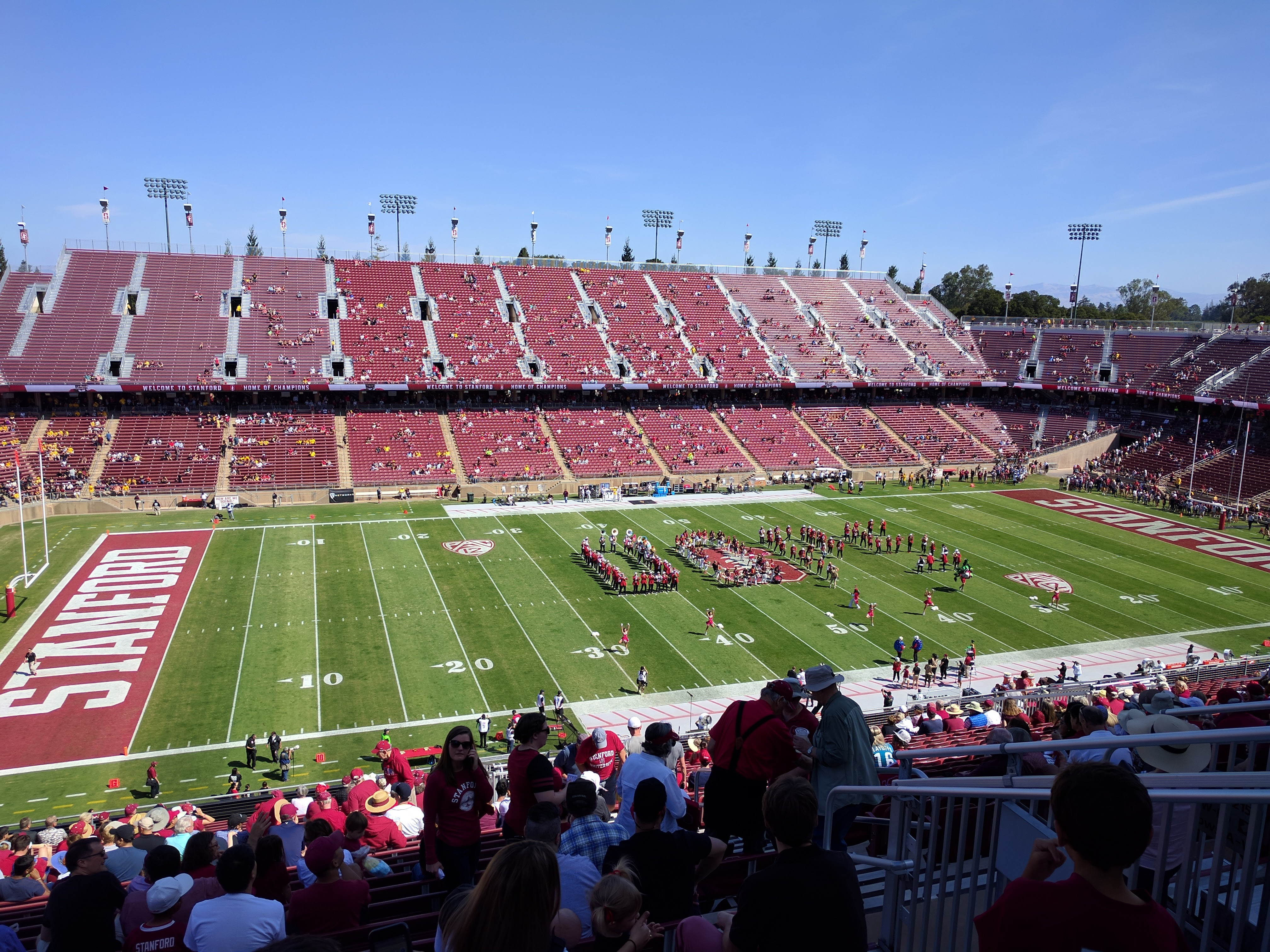 Stanford Cardinal football game
