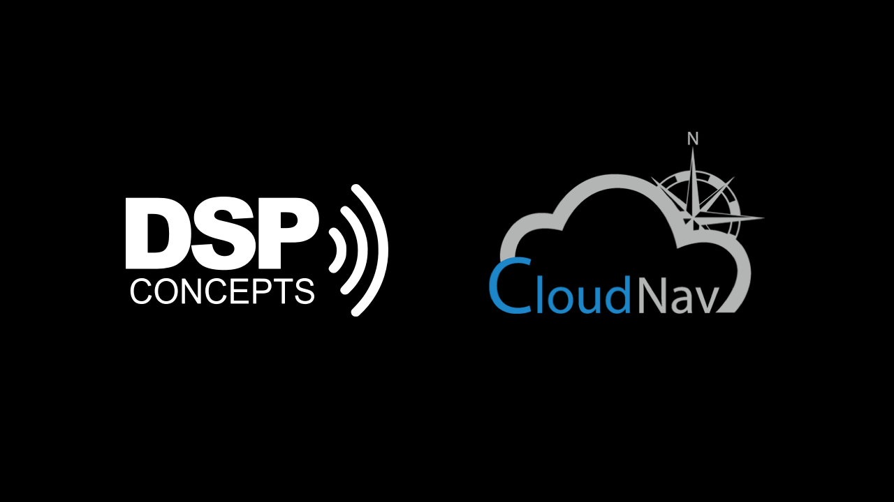 DSP Concepts and CloudNav Partnership Brings Best-in-Class Sensor Fusion Technology to Audio Weaver