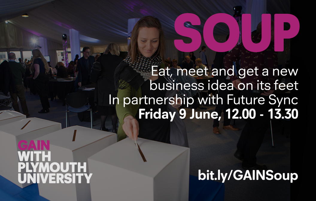 University of Plymouth hosts new Soup pitch battle for start-ups