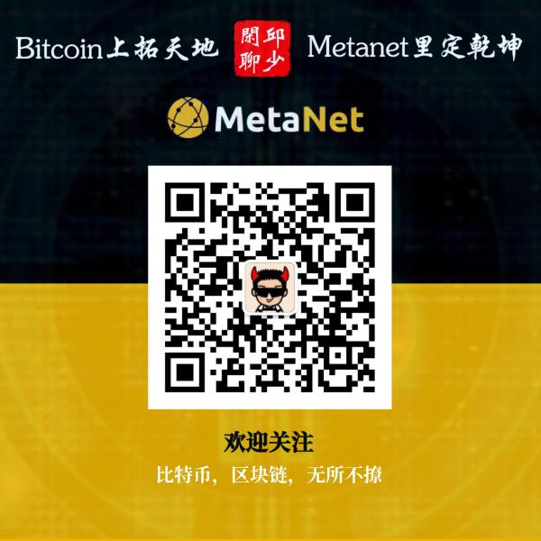 邱少闲聊Metanet
