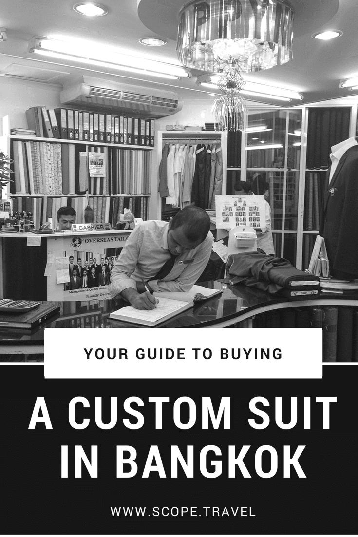 Pinterest Custom Suit in Bangkok