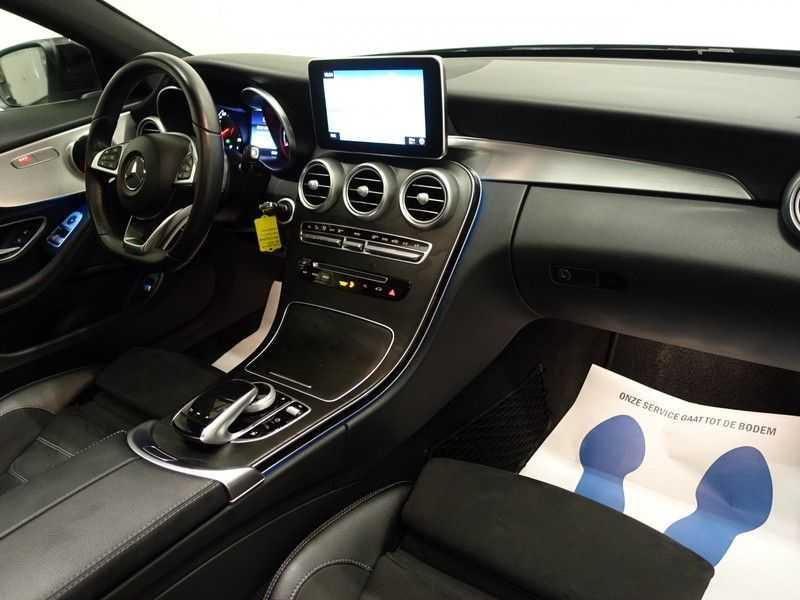 Mercedes-Benz C-Klasse Coupé 300 Prestige 245pk AMG Aut- Panodak, Leer, Camera, Navi, Xenon afbeelding 4
