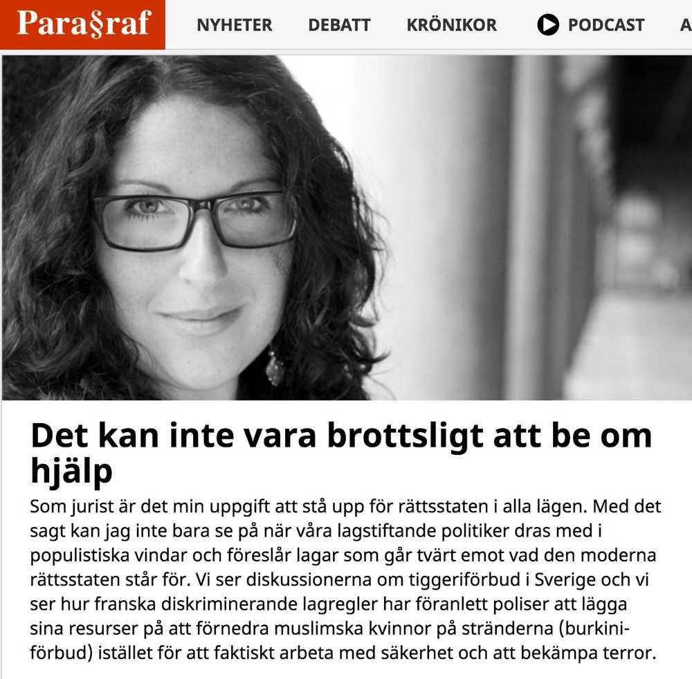 Bild till artikeln Ny krönika om eventuellt tiggeriförbud