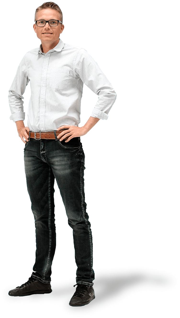 Anders Grønborg med Billy Regnskabsprogram