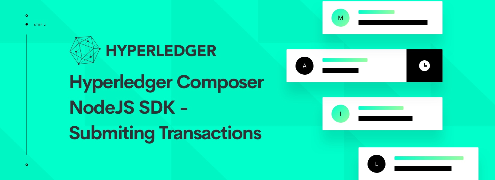 Hyperledger Composer NodeJS SDK - Submiting Transactions
