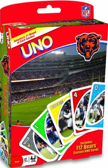 Chicago Bears Uno