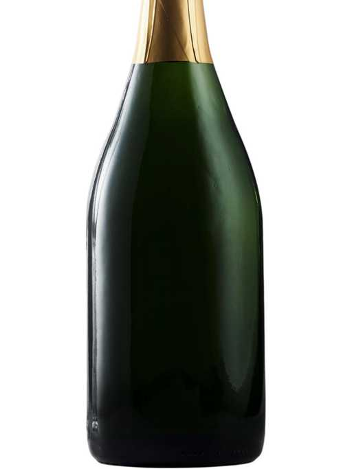 Blank champagne bottle for custom etching