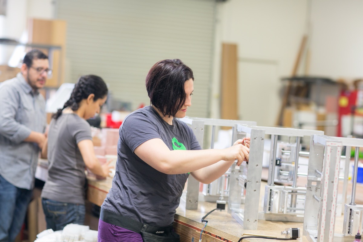 Meg, Crystal, and their team build each Nomad by hand in our California shop.