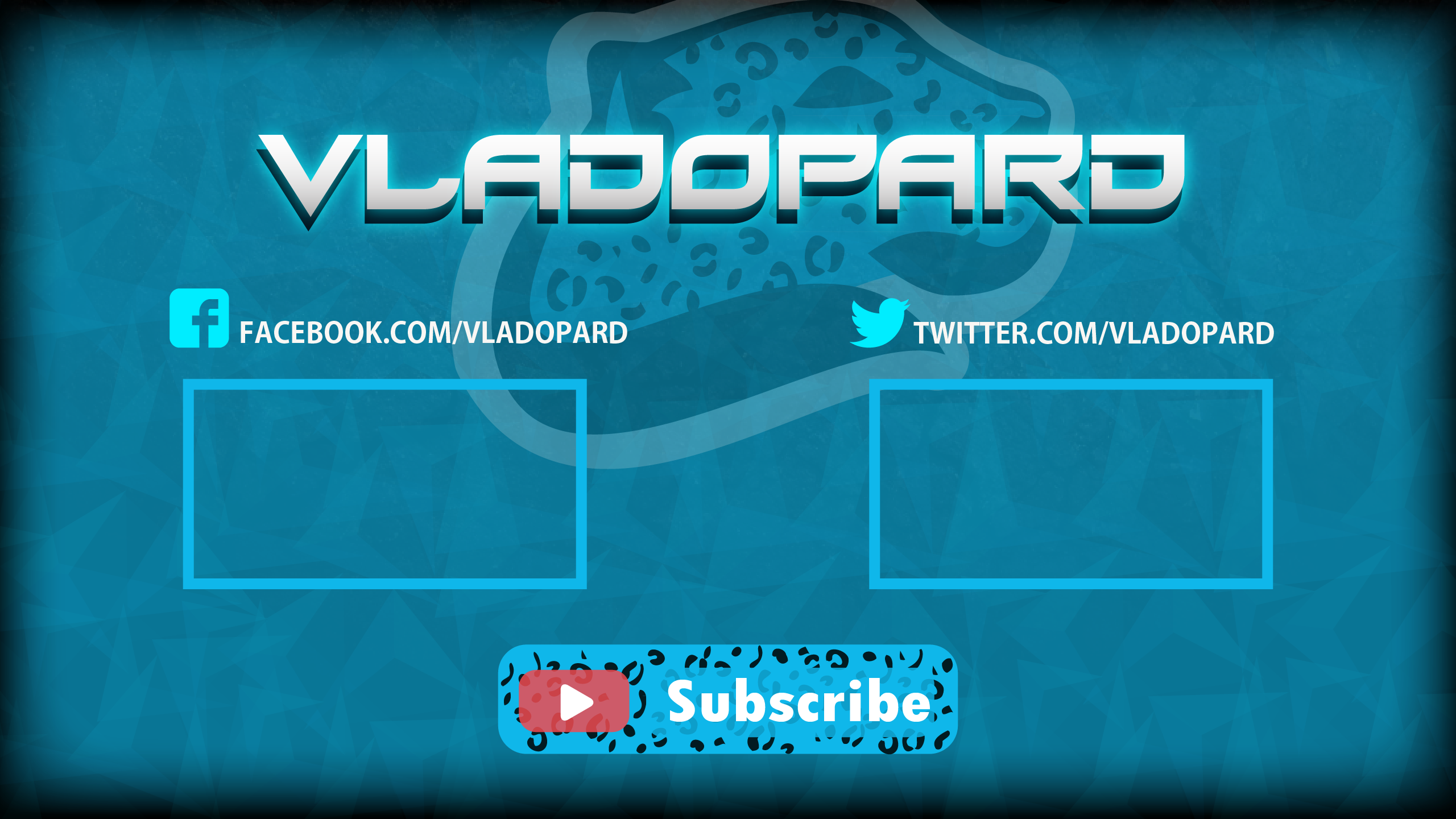 Vladopard YouTube Channel Design