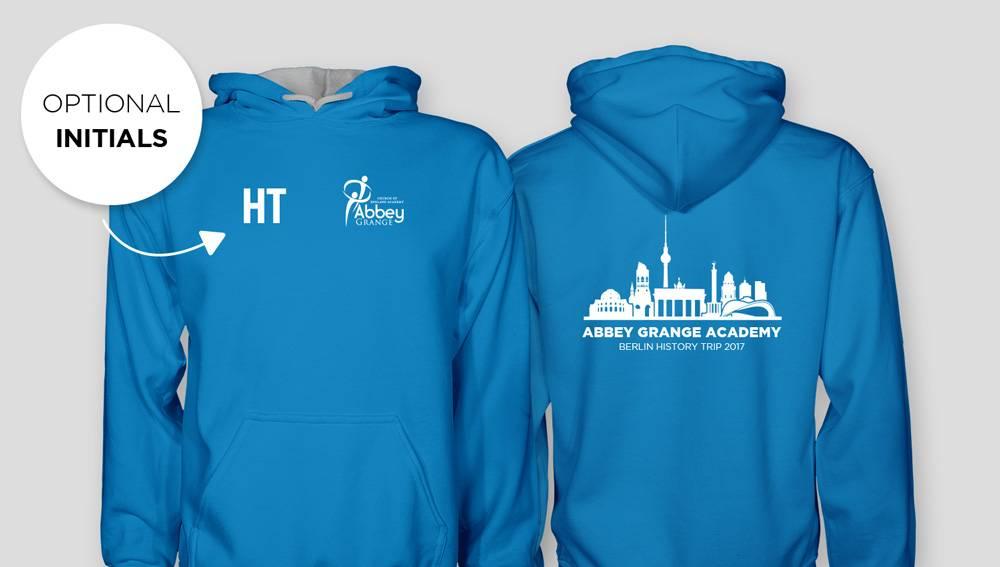 Abbey Grange Academy Berlin History Trip Hoodies 2017