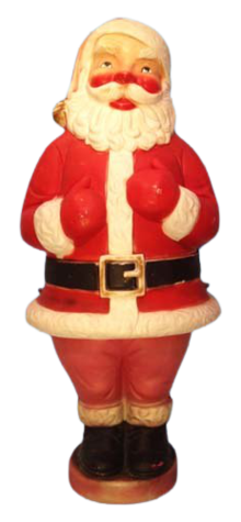 Mechanical Santa Claus photo