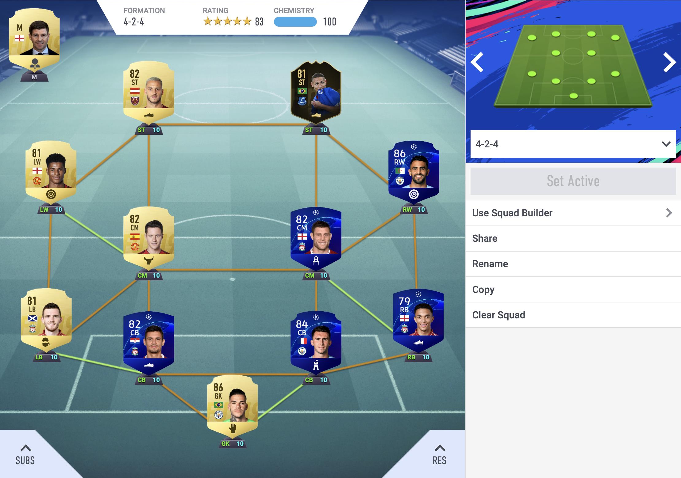 Fifa FUT Team