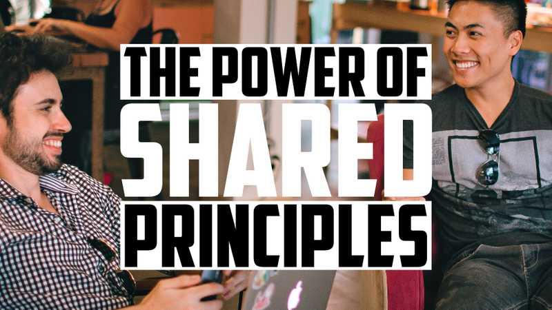 Establish Shared Principles