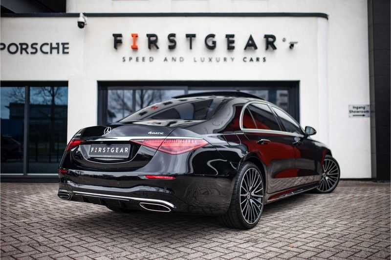 "Mercedes-Benz S-Klasse 500 4Matic Lang AMG *Pano / 3D Burmester / HUD / Distronic / 21"" / 3D Display* afbeelding 5"