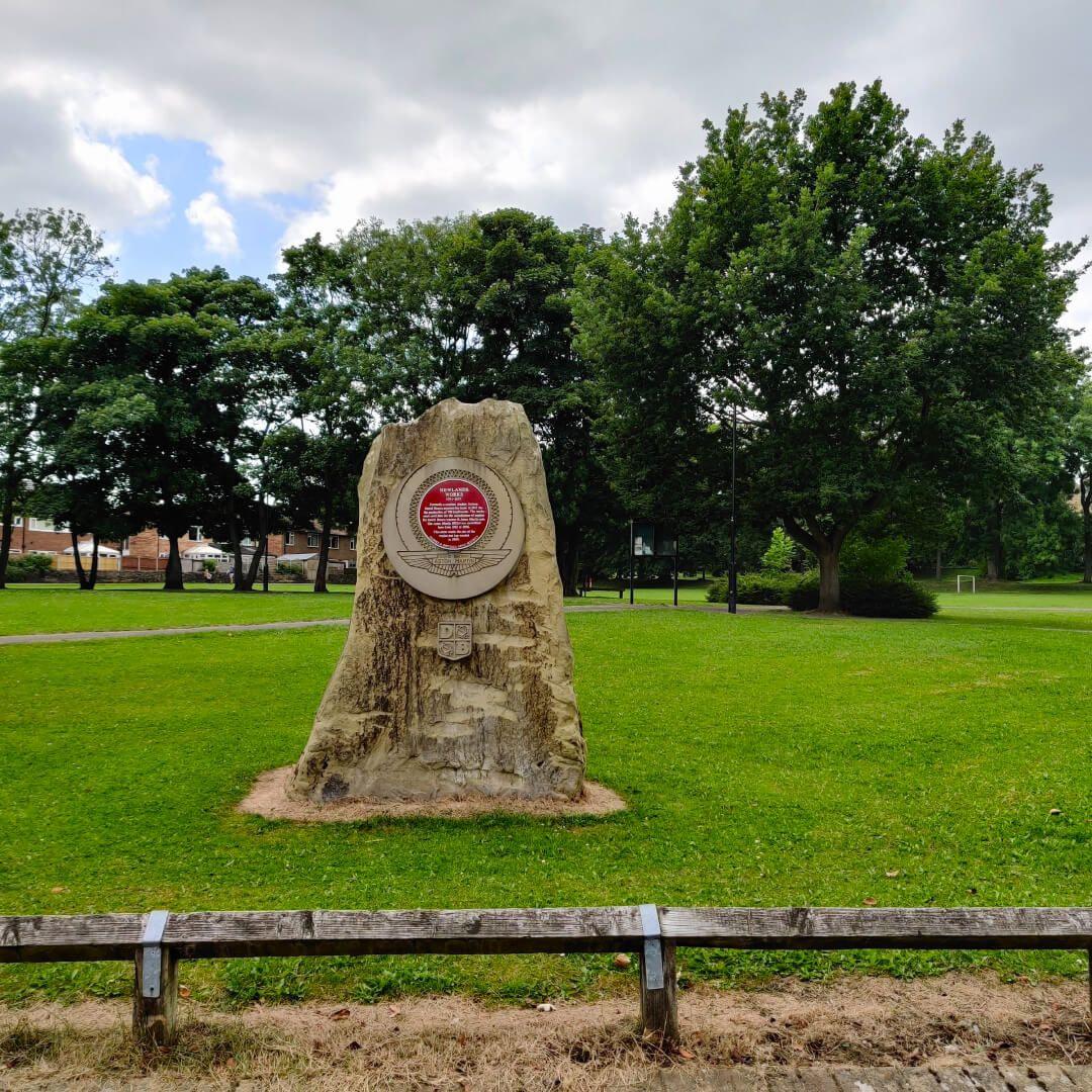 Westroyd Park memorial