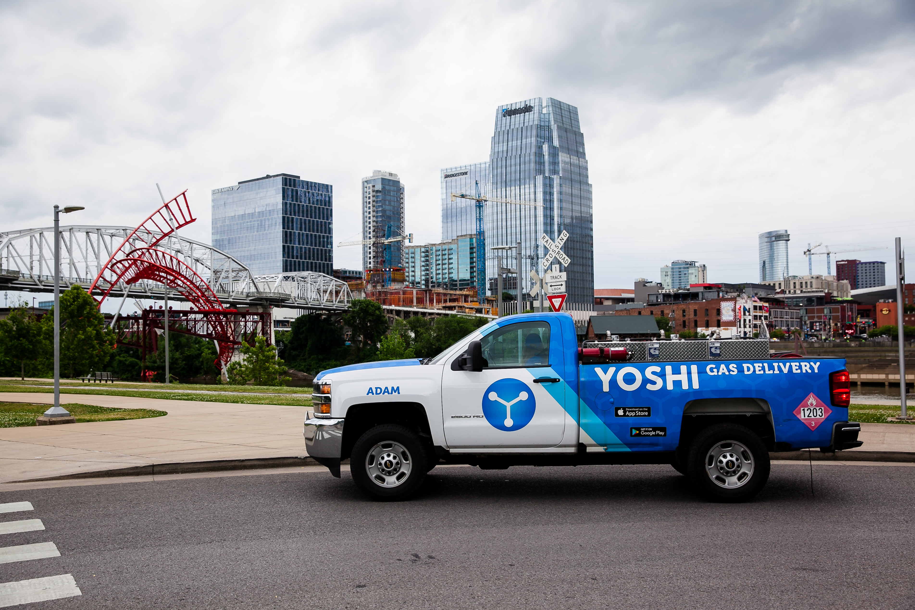 GM leads $23 million investment in on-demand vehicle maintenance service Yoshi