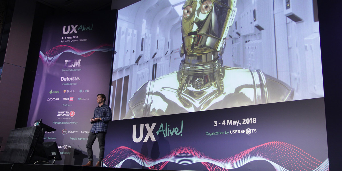 CareerFoundry's Jeff Humble presents at UX Alive