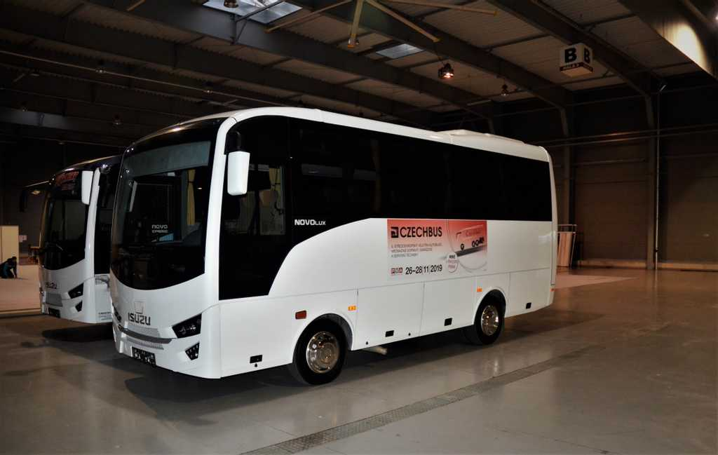 Autobusy ISUZU první na veletrhu CZECHBUS