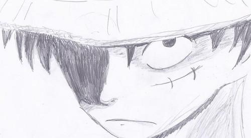 Luffy Sketch