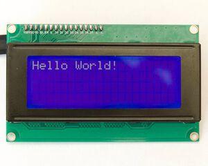 GPIO LCD