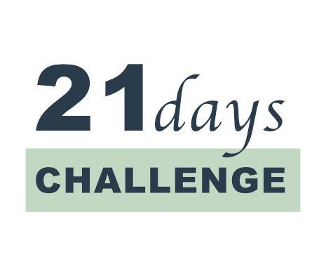 21 Days Challenge Logo