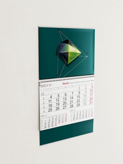 Sieniniai vienos dalies kalendoriai