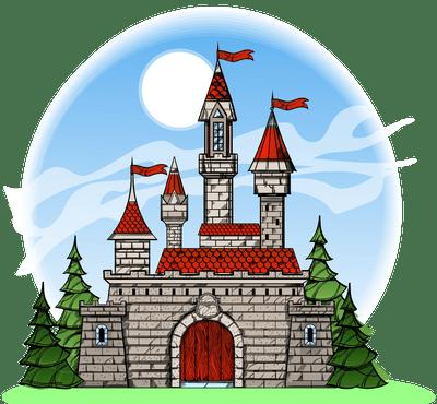 A pretty castle