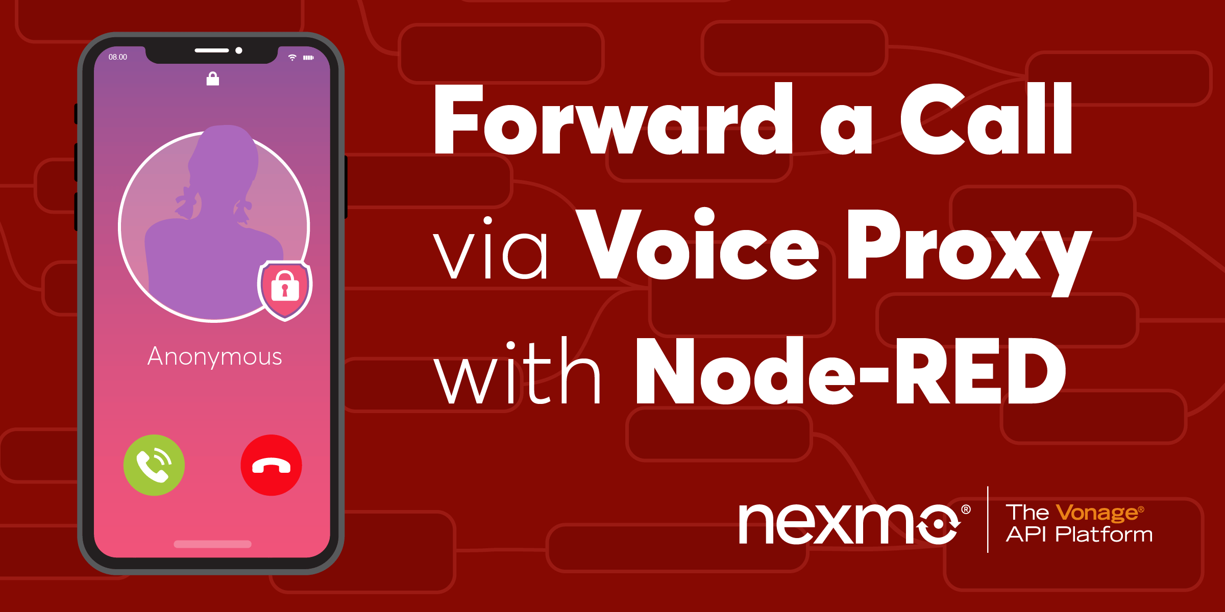 Forward a Call via a Voice Proxy with Node-RED
