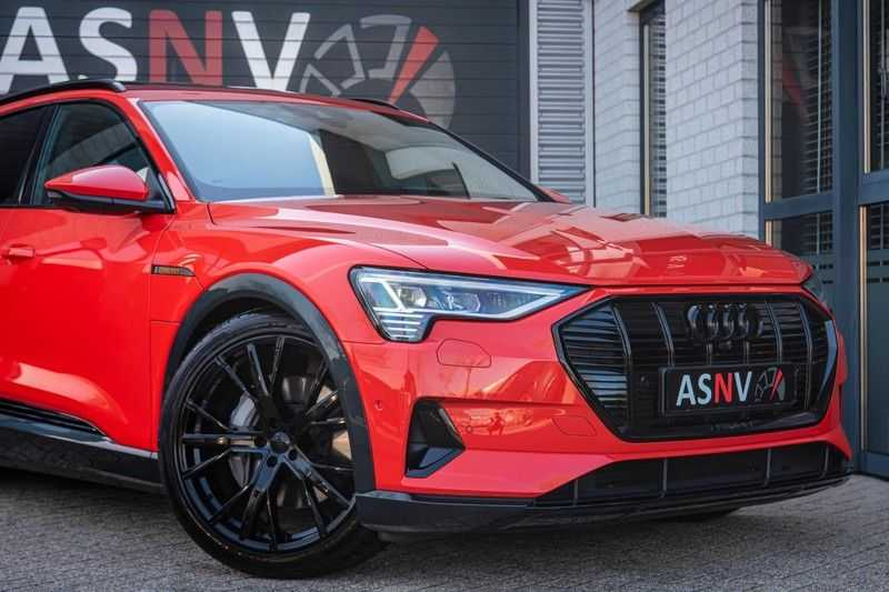 Audi e-tron 55 Quattro Advanced Exterieur, 408 PK, 4% bijtelling, Head/Up display, Pano/Dak, Night/Vision, S-line interieur, 15DKM afbeelding 19