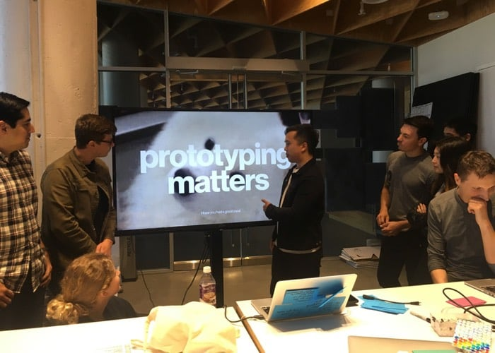"""Show, don't tell"" is a great method for convincing teammates of the power of prototyping."