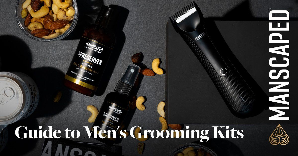 guide to men's grooming kits